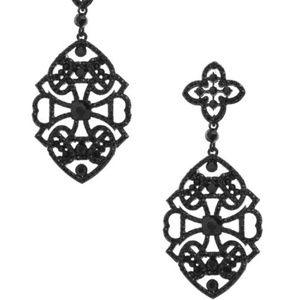 Gorgeous Filigree Chandelier Earrings